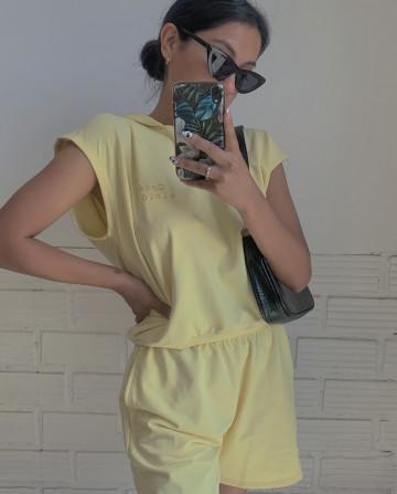 Set Comfy Summer Yellow